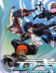 Air Gear (Dub) Episode 14