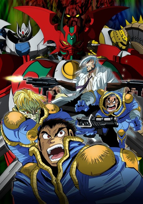 Getter Robo Arc (Dub) episode 6