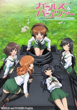 Girls und Panzer (Dub)