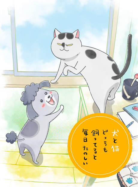Inu to Neko Docchi mo Katteru to Mainichi Tanoshii episode 9