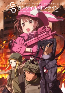 Sword Art Online Alternative - Gun Gale Online (Dub)