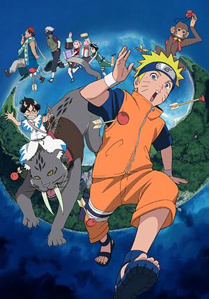 Naruto Movie 3: Dai Koufun! Mikazukijima no Animal Panic Datte ba yo!